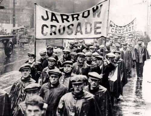 Jarrow Unemployed march to London