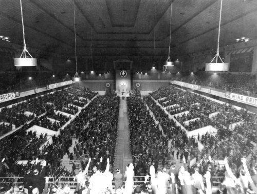Oswald Mosley Earls Court 1939
