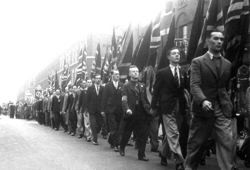 British Union parade May 1939