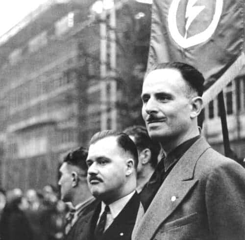 Francis Hawkins and Oswald Mosley