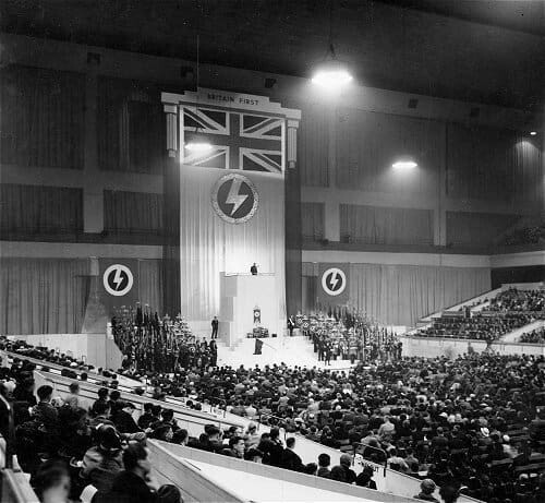 Oswald Mosley Earls Court 1939