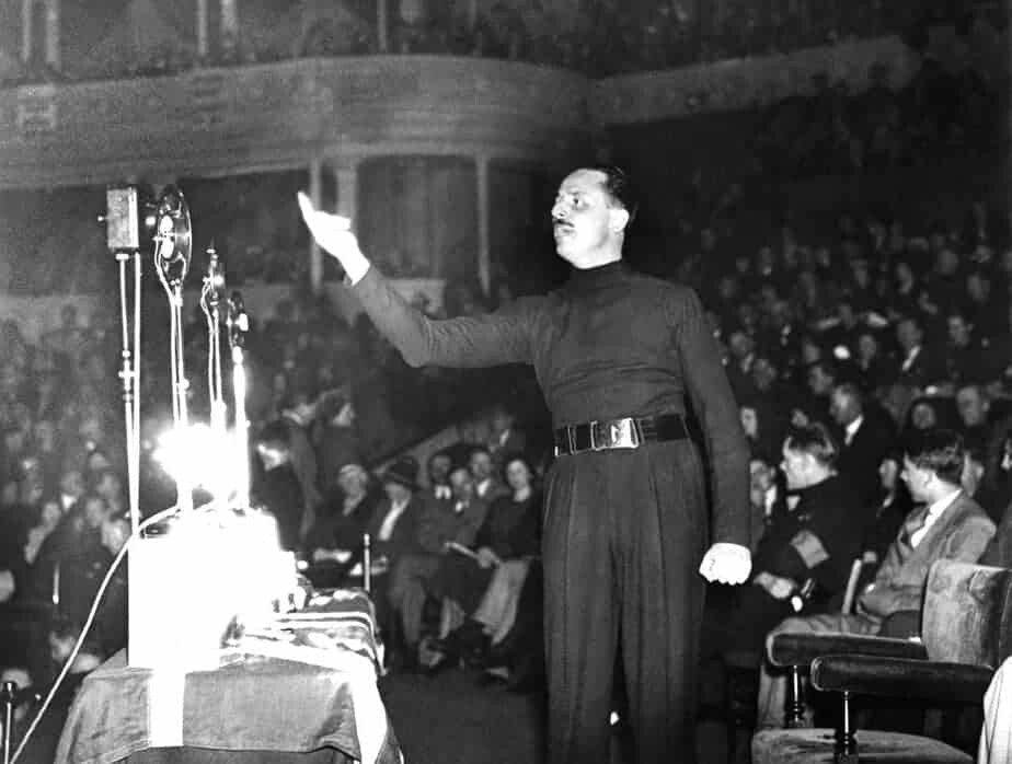 Oswald Mosley - Albert Hall - 1934