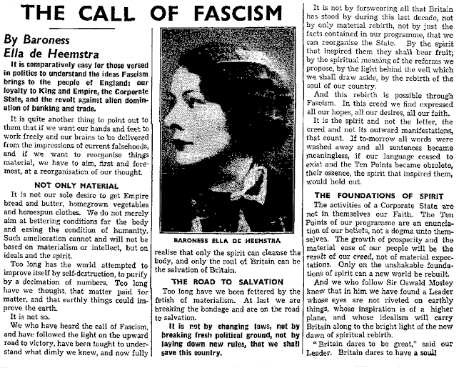 The Call of Fascism
